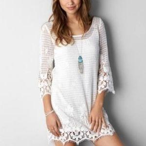 🇨🇦 American Eagle Crochet Mini Dress
